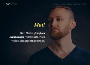 Graafinen suunnittelija Marko Soini