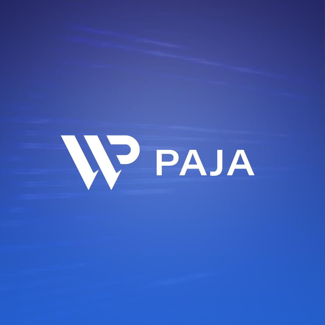 WP-pajalle suunniteltu logo, www.wppaja.fi