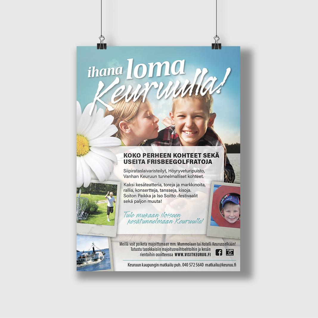 Lehtimainos Keuruun Kaupungin Matkailulle 2015. Päivitetty myöhemmin tuoreemmilla tiedoilla.