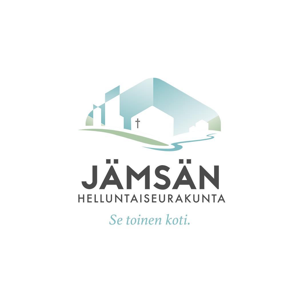 Jämsän Helluntaiseurakunnalle 2017 suunniteltu logo.
